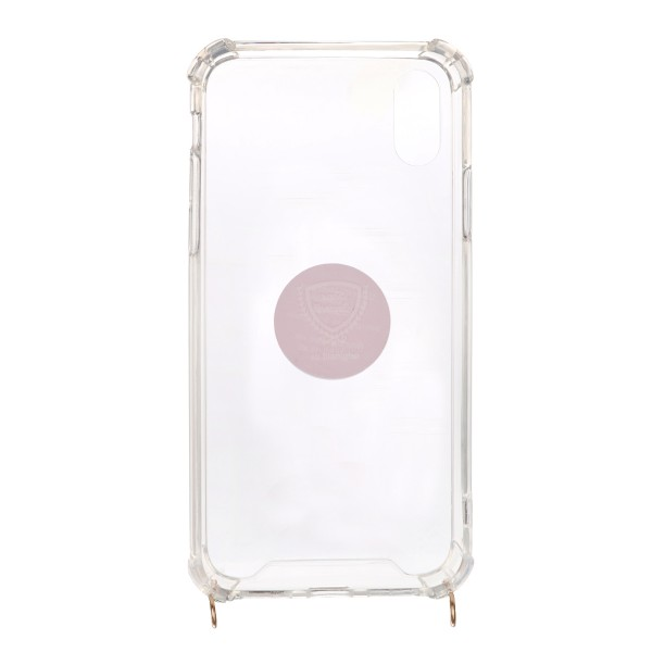 "Mobile Phone Case with Eyelets ""Suitable for Iphone Models"" for Phone chains"