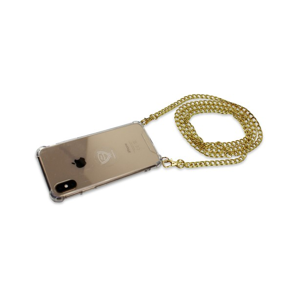 "Mobile Phone Chain ""Suitable for Samsung Models"" Plain Coil Chain Necklace Case Cover"