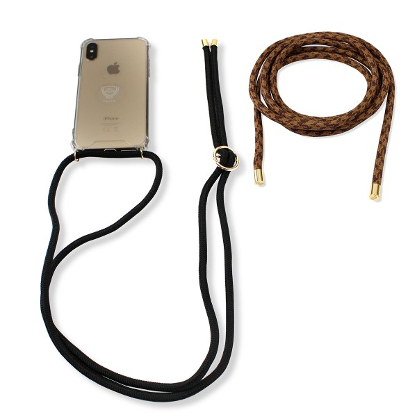 "SET Mobile Phone Chain and Removable Strap ""Suitable for IPhone XR"" Case Necklace"