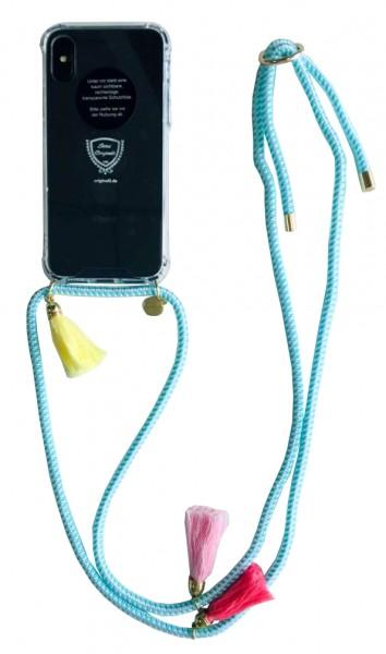 """Handykette """"Passend für Iphone 7/8"""" Quasten Schnur Necklace Hülle Smartphone"""