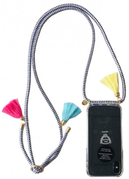 "Mobile Phone Chain ""Suitable for Iphone X/Xs"" Tassel Necklace Case Smartphone Protection"