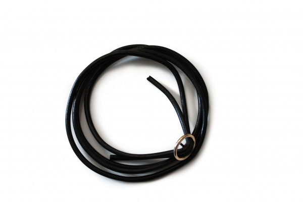 Mobile Phone Chain Leather Replacement Cord Necklace Smartphone Chain Cloak with golden Ring
